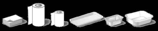 contenedores bandejas films termoselladoras